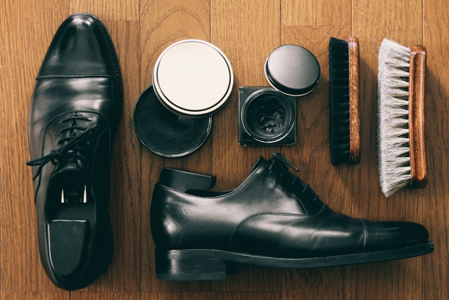 靴磨きセットの画像